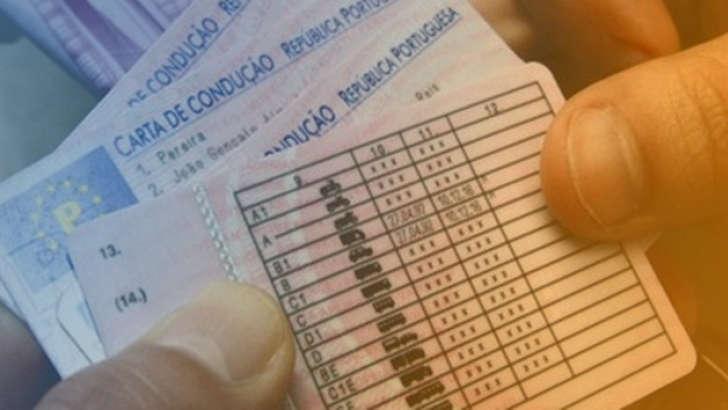 cartas de condução portuguesas